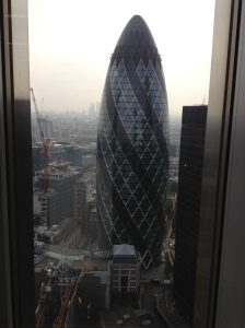 Gherkin from Tower 42